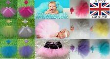 Newborn Baby Tutu Clothes Skirt Headdress Flower Photo Photography Prop Outfit