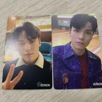 Seventeen - ;[SEMICOLON] Special Album Vernon HMV JAPAN Ver. Official 2 Cards