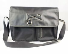 EUC Mandarina Duck Nylon, Leather Laptop Messenger Bag
