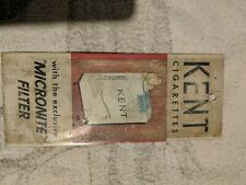 Vintage Kent cigarette sign