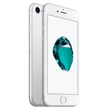 APPLE IPHONE 7 128GB BIANCO SILVER ROTTO DIFETTOSO SCHEDA MADRE PEZZI RICAMBIO