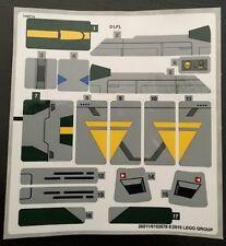 LEGO 75150 Star Wars - Vaders TIE Advanced vs A-Wing Starfighter - STICKER SHEET