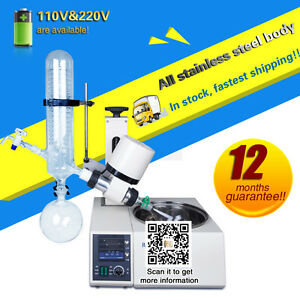 free shipping,brand new Rotary Evaporator with Digital Display automatic lift
