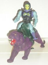 1983 Mexico Skeletor (Battle Armour) and Panthor - He-Man MOTU Mattel