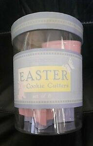 WILLIAMS-SONOMA EASTER COOKIE CUTTERS SET OF 8 - NEW