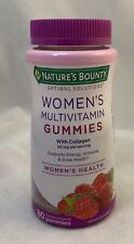 Natures Bounty Optimal Solutions Women's Multivitamin Gummies - Raspberry, 80ct
