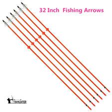 32 Inch Archery Fiberglass Bowfishing Arrows Bow Fishing Hunting Arrows Shooting