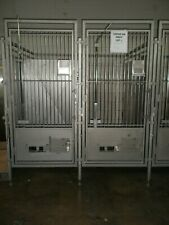 Allentown Stainless Lab Veterinary Dog Kennels- Cages - Lot Is Bank Of 5