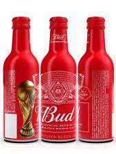 BUD beer Aluminium bottle 330ml FIFA World Cup Russia 2018 Limited Edition