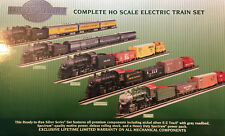 Bachmann Silver Series HO Train Set w Spectrum 2-8-0 Steam Loco: B&O Explorer
