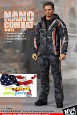 1/6 Nano Combat Jacket Suit F-080 Iron Man infinity war Tony Stark ❶US IN STOCK❶