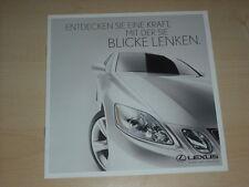 47012) Lexus GS 430 RX Prospekt 200?