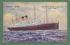 White Star Line Collectable Cruise Liner Postcards