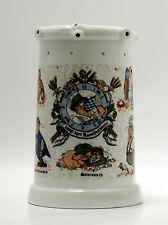 Bierkrug mit Löchern 0,6 liter, Motiv Königlich Bayerisches Rauschbarometer