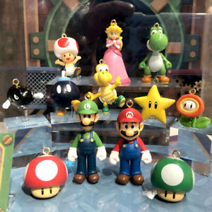 Universal Studios Japan Super Nintendo World Mario Collectable Figure Keychain