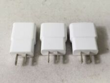 Lot Of 3 Genuine Samsung 5.0V 1.0A Travel Ac Adapter Charger Eta0U61Jwe White