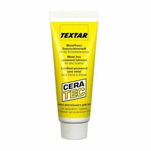 Textar Cera-Tec Ceratec Brake Lubricant Grease Anti Squeal - 75ml Tube UK STOCK