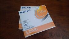 """Sony EDM-8600C MO Disk 5.25"""" 8.6GB 2048b/sector NEW SEALED magneto optical disk"""