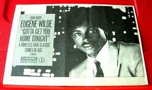 "Eugene Wilde Gotta Get You Home Tonight ORIG 1984 Press/Mag ADVERT 8.5""x 6"""