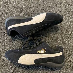 Puma Speedcat OG  X Sparco Black Suede Shoe 306794-01 Women's Size 7.5