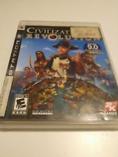 Sid Meier's Civilization Revolution (Sony PlayStation 3, 2008) No Manual