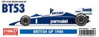 Studio27 FK20321 1:20 Brabham BT53 Britain GP 1984 resin kit
