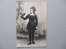 Russia Antique Postcard Opera Singer Nasilova (Насилова) 1910s