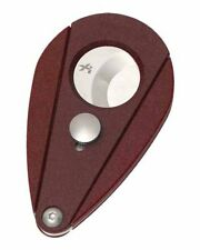 XiKAR Xi2 200RD Cigar Cutter W Free Leather Sheath Red Lifetime Warranty