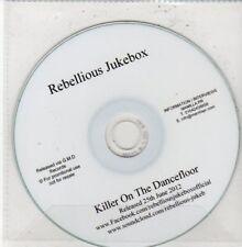 (DG32) Rebellious Jukebox, Killer On The Dancefloor - 2012 DJ CD