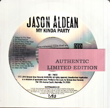 jason aldean  limited edition cd #3