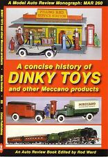 Book- Dinky Toys History - Meccano Hornby Tri-ang  - Auto Review