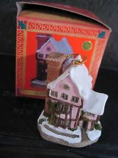 David Winter 1992 Miniature Christmas Ornament SUFFOLK HOUSE NIB New Old Stock