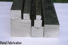 "Aluminium Square Bar 1"" x 1"" x 250mm  6082"