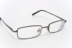 NEARSIGHTED GLASSES for SEEING DISTANCE myopia GUNMETAL powers -1.00 to -5.00