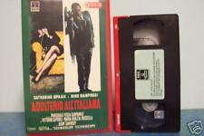 [0231] Adulterio all'italiana (1966) VHS 1° edizione