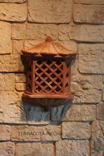 terracotta Wandlampe terrakotta Leuchte mit Lampenfassung 40 x30 cm br.