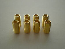 6mm GOLD PLATED AMPLIFIER / POWER AND SPEAKER TERMINAL SET SCREWS 8pcs