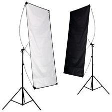 2-in-1 schwarz-weiß Reflektorpanel, Faltreflektor ,Reflektorboard  90x180 cm