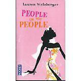 LAUREN WEISBERGER - PEOPLE OR NOT PEOPLE - 2007 - poche