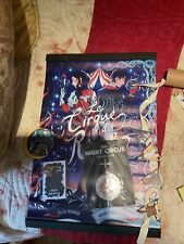 More details for illumicrate/ fairyloot caraval/ night circus-tarotcards, banner, pin, necklace +
