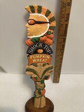 Shock Top Pumpkin draft beer tap handle. Colorado.