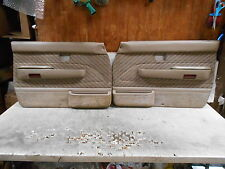 1994 Toyota 4 Runner Interior door panel door skins Left right front  door pull
