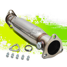 STAINLESS DOWN PIPE TEST HIGH FLOW CAT CONVERTER FOR CIVIC DEL SOL CRX INTEGRA