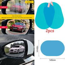 Auto Side Mirror Glass Tint Anti Glare Rainproof Wing Mirror Flim Protector 2Pcs