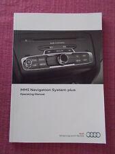 2011 AUDI MMI SAT NAV - AUDIO - PHONE ETC HANDBOOK. A1 A3 A4 A5 A6 A8  (MMI 59)