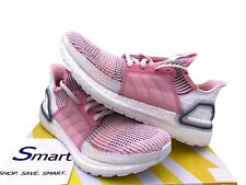 $180 NEW SIZE 6-10 WOMEN adidas ULTRA BOOST 19 Running Training Shoes White Pink