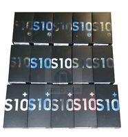 Samsung Galaxy S10 S10+ S10e Box Lot Original Empty Boxes with Manual Wholesale