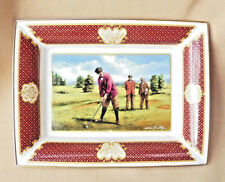 Golfing Collection Tray by Melvyn Buckley for Royal Worcester