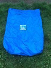 Medium blue nylon sail bag
