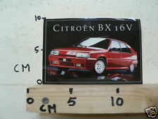 STICKER,DECAL CITROEN BX 16V CITROËN